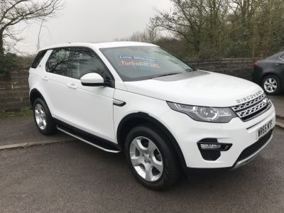 Land Rover Discovery Sport 2.0 TD4 HSE 5dr [5 Seat] Estate Diesel White at Hursley Hill & SMG Bristol
