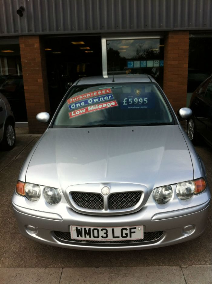 MG ZS 2.0 TD 115 + 4dr Saloon Diesel Silver