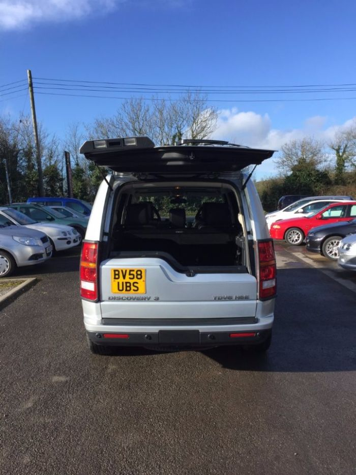 Land Rover Discovery 2.7 Td V6 HSE 5dr Auto Estate Diesel Silver
