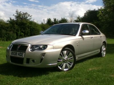 Rover 75 4.6 V8 Connoissuer SE Saloon Petrol Gold at Hursley Hill & SMG Bristol